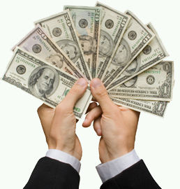 cash in hand Monday Motivator!  How you can create an abundance of cash NOW!